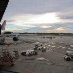空港から撮った飛行場の写真。