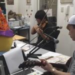 のざわ氏とのラジオ風景