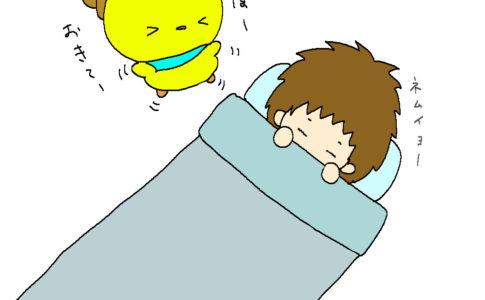 ぴよ しん寝てる